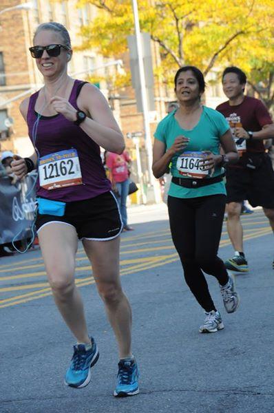 Bronx 10 mile finish