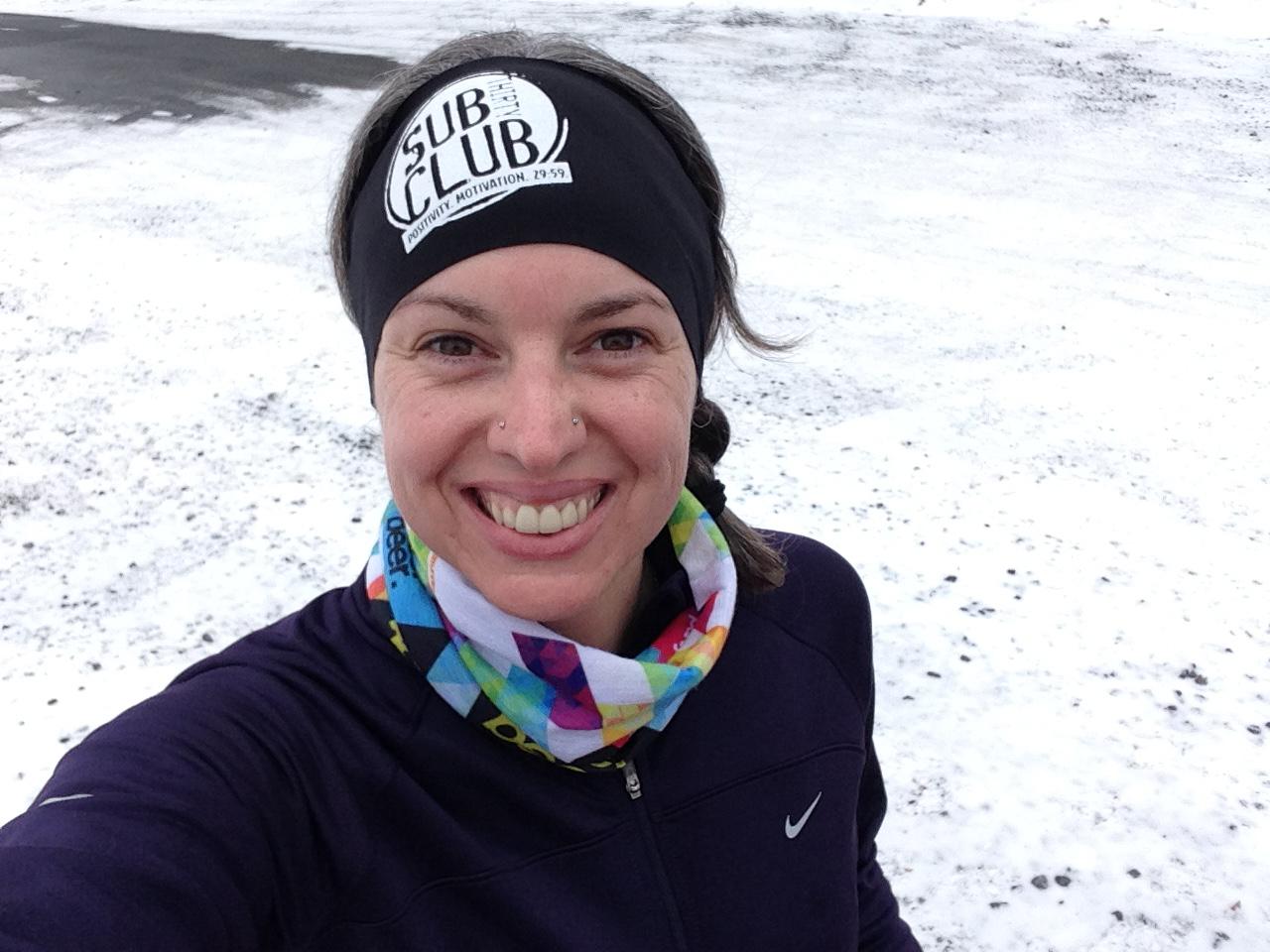 Pound Ridge Trail Run selfie