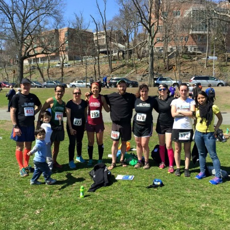 North Brooklyn Runners at Van Cortlandt Park.