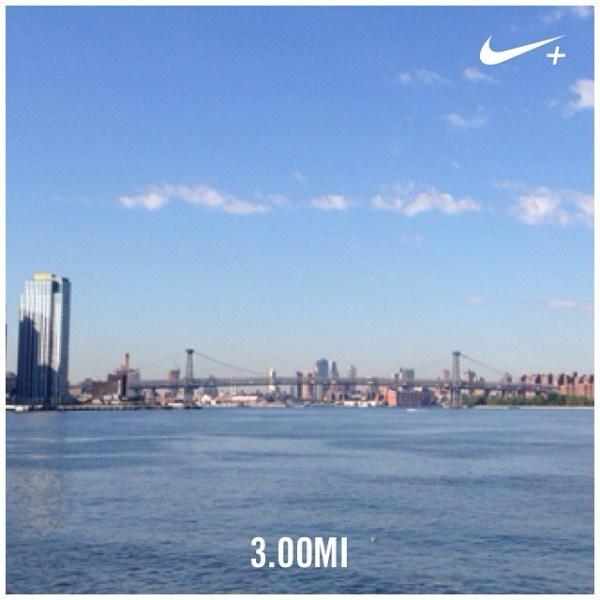 Three easy miles