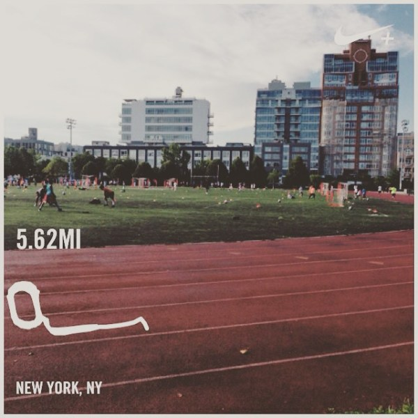 Tuesday: Speedwork